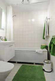White Subway Tile Bathroom Ideas White And Blue Glass Tiled Wall Bathroom Shower Tub Tile Ideas