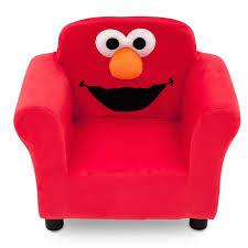 delta children sesame street elmo kids upholstered club chair