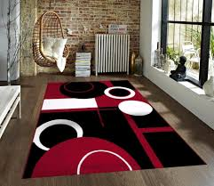 Red White Black Rug Area Rugs Magnificent Rugs Awesome Round Area Classroom On Black