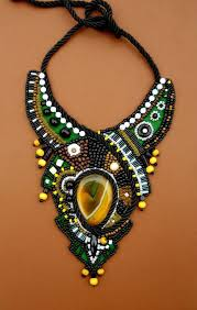 bib necklace designs images Nomad ani jewelry designs tuareg inspired from anidandelion on jpg