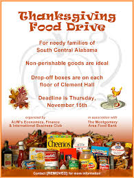 thanksgiving food drive flyer templates u2013 happy thanksgiving