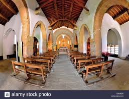 Romanesque Interior Design Spain Galicia Interior Of The Romanesque Church Santa Maria Real