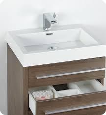 23 5 u201d fresca livello fvn8024go gray oak modern bathroom vanity w