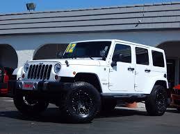 2012 used jeep wrangler unlimited sahara w procomp suspension