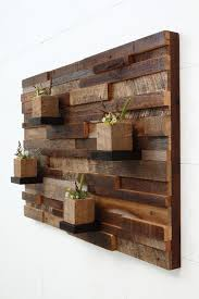 Barn Wood Floating Shelves by Reclaimed Wood Wall Art 37x24x5 Large Art By Carpentercraig
