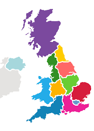 map of uk uk region map family days out and events uk bee outdoors