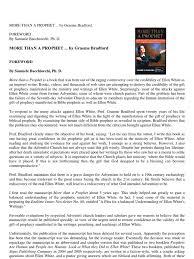 graeme bradford more than a prophet revelation prophet