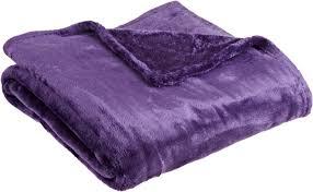 northpoint plush velvet throw purple throw blankets