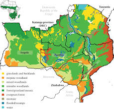 Africa Map Quiz Fill In The Blank by Ecosystem Services From Southern African Woodlands And Their