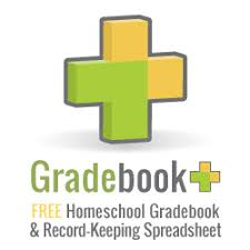 free home school free gradebook record keeping spreadsheet template for