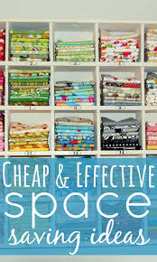 cheap and effective space saving ideas