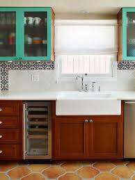 elegant spanish tile kitchen taste