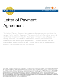 installment plan agreement template pay agreement letter exol gbabogados co