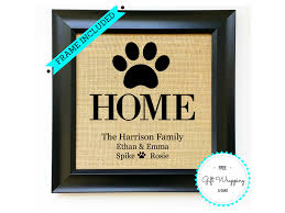 frame included perfect pet dog lover gift unique dog gift for