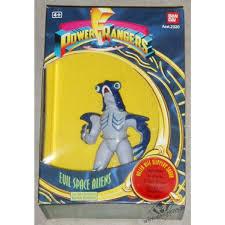 power rangers evil space aliens slippery shark vision toys