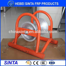 electrical cable roller aluminium electrical cable guide roller