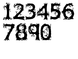 spooky png nice numbers by spooky dream on deviantart
