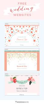free personal wedding websites create a free wedding website to your info with family and