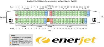 seat map enerjet seating