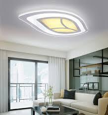 Wohnzimmerlampe Flach Woward Design Led Deckenleuchte Aus Plexiglas Volldimmbar Mit