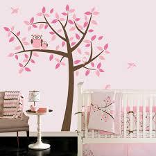 Owl Baby Girl Nursery Owl Baby Room Decor Nursery Wall Decals For