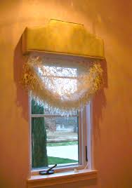 cornices duettes and roman shades are layered by decorating on a