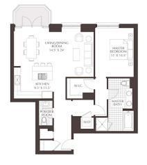 1 bedroom condo floor plans luxury condo floor plans unit a3 a 1 bedroom 1 5 bath totaling