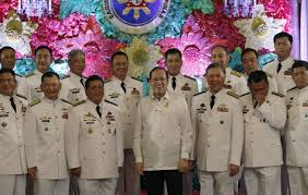 Flag Officer In Command Philippine Navy President Aquino Swears In Military Officials In Malacanang