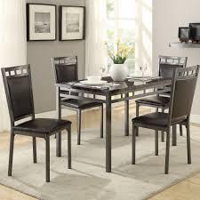impressive metal dining room sets stunning dining room decor ideas