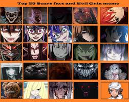 Meme Scary Face - top 25 scary face and evil grins 2 by artdog22 on deviantart
