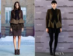Mara With The Rooney Mara In Givenchy The With The Madrid
