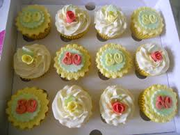 image result for 80th birthday cupcakes ideas 80th birthday