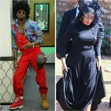 diamond platnumz platnumz and wife zari appear to be throwing shade at each other