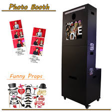 photobooth printer 2017 hot touch screen photo booth with and printer stand