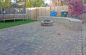 Patio Interlocking Pavers by Backyard Transformation In Tumwater Ajb Landscaping U0026 Fence