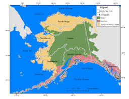 Alaska Map Images by Freshwater Ecosystems Are An Important Part Of The Alaskan Carbon