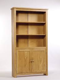 furniture home tall white bookcases with doors design modern 2017