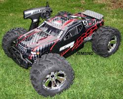 nitro rc monster trucks redcat rc earthquake 3 5 1 8 scale r c nitro truck new fast