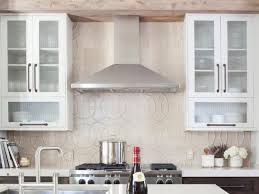 Backsplash For Kitchen With White Cabinet Decorating Artistic Fasade Backsplash With White Kitchen Cabinets