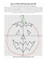 the cartesian art halloween jack o lantern halloween math