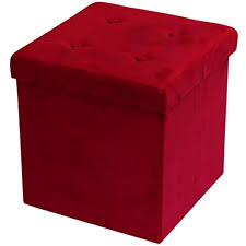 suede ottomans footstools and poufs ebay