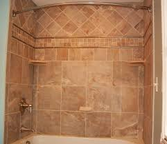 bathroom ornate bathtub tile shower ideas with visible glass