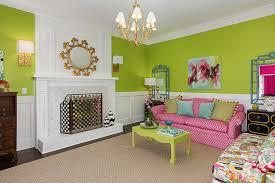 Yellow Fireplace Wainscoting Fireplace Design Ideas