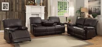 Recliner Sofa Sets Homelegance Cassville Reclining Sofa Set Brown 8403 Sofa