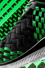 Free Green Nike Free Inneva Woven Black Poison Green Sail Sneakernews Com