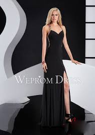 sweetheart empire waist cut out long evening dress with rhinestone