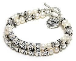 mothers bracelets pearl mothers bracelet of pearl bracelet