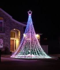 How To Wrap A Tree In Lights How To Wrap A Tree With Lights Led Christmas Lights Christmas