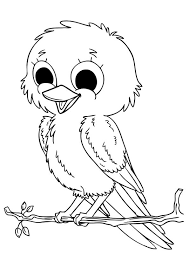 free bird coloring pages kids coloringstar