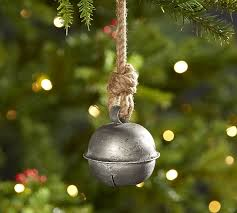 antique bell ornament pottery barn